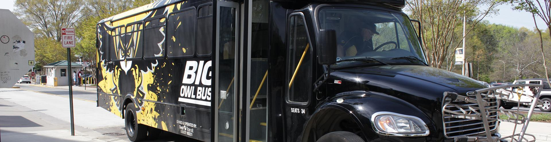 Big Owl Bus Shuttle Routes